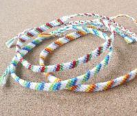 簡単なのに可愛いミサンガ!色々な編み方をマスターしよう!