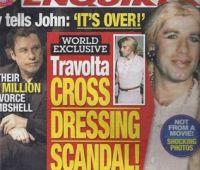 ジョン・トラボルタ女装写真が見つかり更にピンチ!ゲイ疑惑で離婚危機か!?