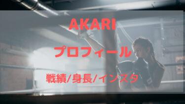 AKARI(格闘技)の身長・プロフィール!インスタや気になる実力は?