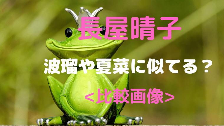 長屋晴子(緑黄色社会)は波瑠や夏菜に似てる?比較画像とプロフィールも