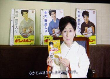 松山容子とボンカレーCMは琴姫七変化から始まった。50年の歴史
