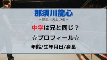 那須川龍心の中学はどこ?年齢や生年月日・身長wikiプロフィール!